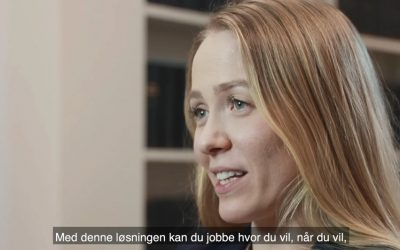 Daria Fagerlund, Head of Professional Services i 24SevenOffice AS om den sømløse synkroniseringen mellom 24SevenOffice og Advocate Desktop Plus.